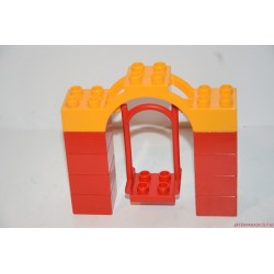 Lego Duplo sárga piros hinta