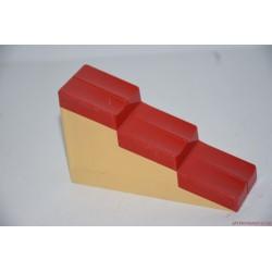 Lego Duplo piros fehér tető