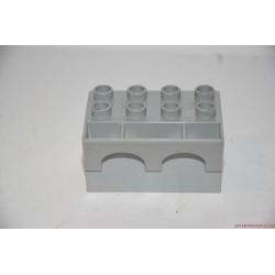 Lego Duplo szürke vár bástya elem