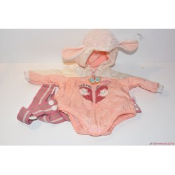 Baby Annabell báránykás hordozó kabát