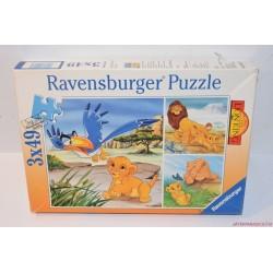 Vintage Oroszlánykirály puzzle kirakós játék