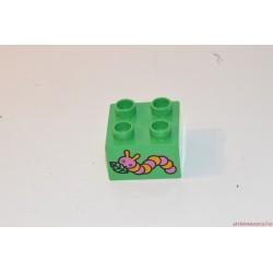 Lego Duplo kukac képes kocka elem