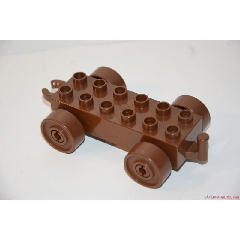 Lego Duplo barna autó alap