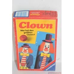 Vintage Ravensburger Clown Kinek nő nagyobbra a bohóca? társasjáték
