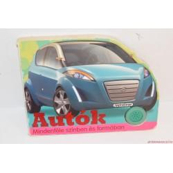 Autók mindenféle színben és formában