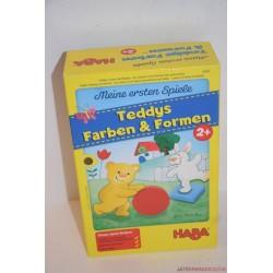 HABA 5878 Teddys Farben & Formen társasjáték