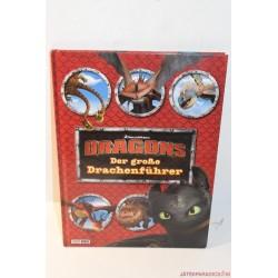 Dreamworks Dragons német nyelvű könyv