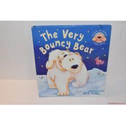 The Very Bouncy Bear előugró angol könyv
