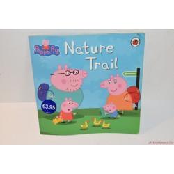 Nature Trail tanösvény angol füzetecske