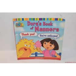 Dora's book of manners viselkedési angol könyv