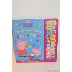 Peppa Pig super noisy sound book zenélő angol könyv
