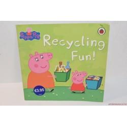 Peppa Pig recycling fun újrahasznosítás angol könyv