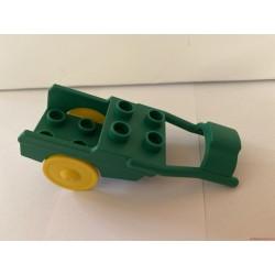 Lego Duplo zöld fogat elem