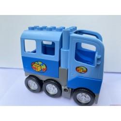 Lego Duplo kék csomagszállító teherautó