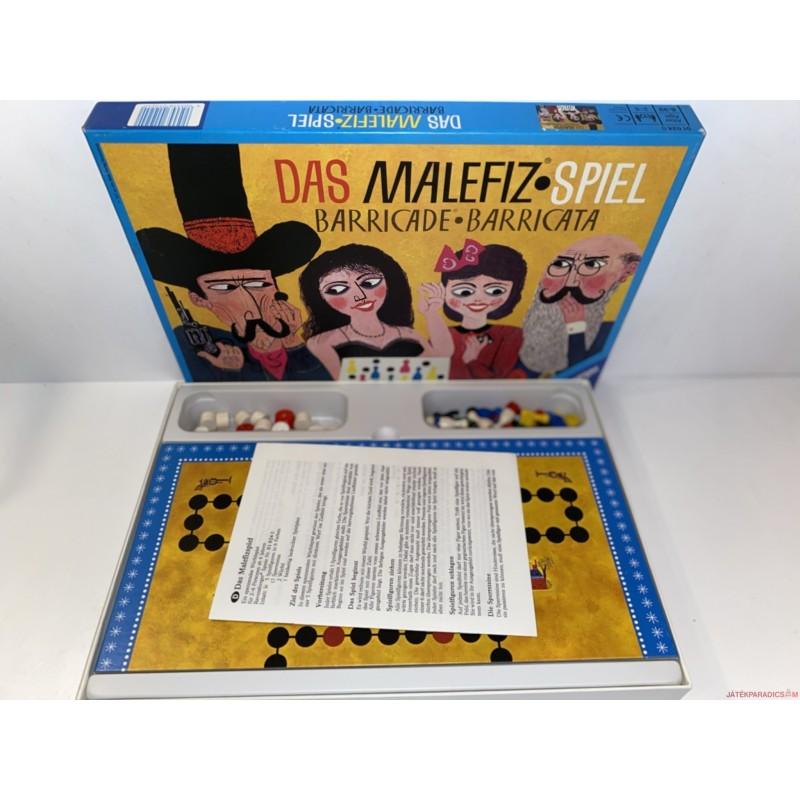 Extra Ritkaság! Vintage Eredeti Malefiz társasjáték