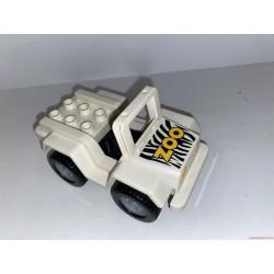 Lego Duplo Zoo állatkerti kisautó dzsip