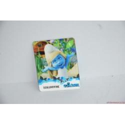 Hupikék törpikék 2D kártya