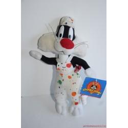 Vintage Looney Tunes Szilvester plüss címkés