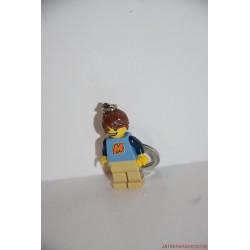 Lego fiú minifigura kulcstartó