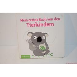 Bújkáló állatkölykök német nyelvű könyv