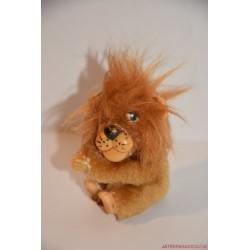 Vintage csíptetős oroszlán kapaszkodó figura