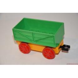 Lego Duplo zöld vagon, vasúti kocsi