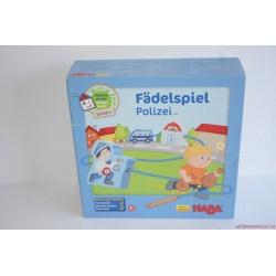 HABA 5693 Fädelspiel Polizei társasjáték