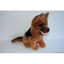 Akciós Vintage Rex felügyelő plüss németjuhász kutya