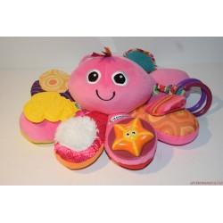 Lamaze Musical Octotunes pink polip felhúzható babajáték