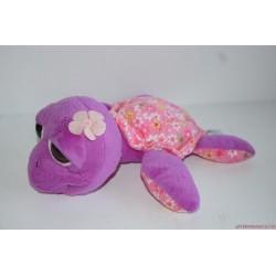 Suki virágos plüss teknősbéka