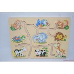 PINO képkereső fa puzzle labirintus játék