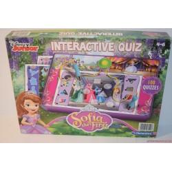 Sofia Interactive Quiz Szófia hercegnő interkatív kívz párosító társasjáték