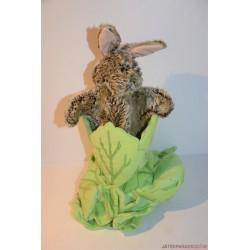 Puppet Co nyuszi a salátában plüss báb