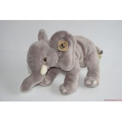 Vintage WWF World Wildlife plüss elefánt