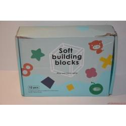Soft Building Blocks gumikockák babajáték