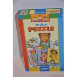Teddy puzzle kirakó társasjáték
