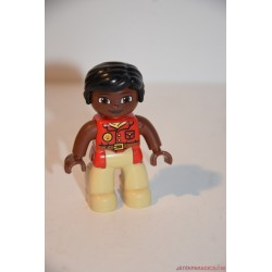 Lego Duplo színesbőrű állatgondozó nő