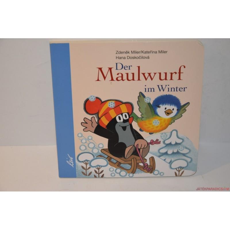 Der Maulwurf im Winter Kisvakond télen német könyv