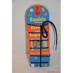 Bandolo készségfejlesztő fonalas párosító játék Set 35