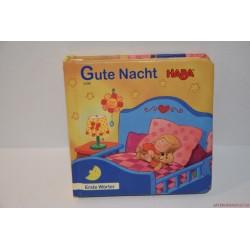 HABA Gute Nacht Jó éjt német könyv