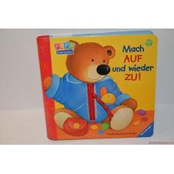 Mach auf und wieder zu! Nyisd ki és csukd be német tapintós könyv