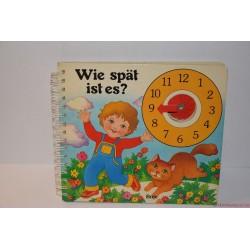 Wie spat ist es? Mennyi az idő? német könyv