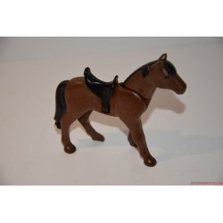 Playmobil barna ló nyereggel