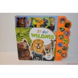In der Wildnis német nyelvű állatos hangutánzó könyv