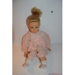 Eredeti sorszámozott Götz szőke hajú Elizabeth Lindner tervezésű baba