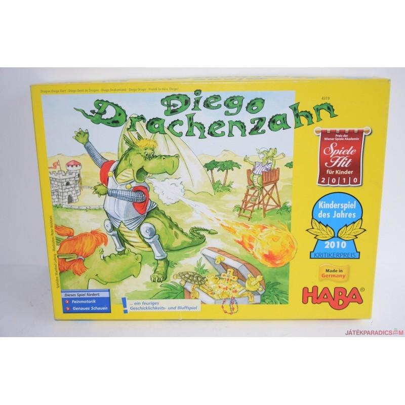Haba Diego Drachenzahn sárkányos társasjáték 4319