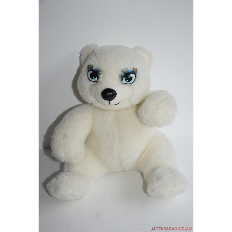 Világító arcú plüss jegesmedve