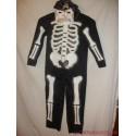 Különleges csontváz jelmez álarccal(1B)