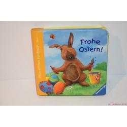 Frohe Ostern Kellemes Húsvéti Ünnepket tapintós könyv
