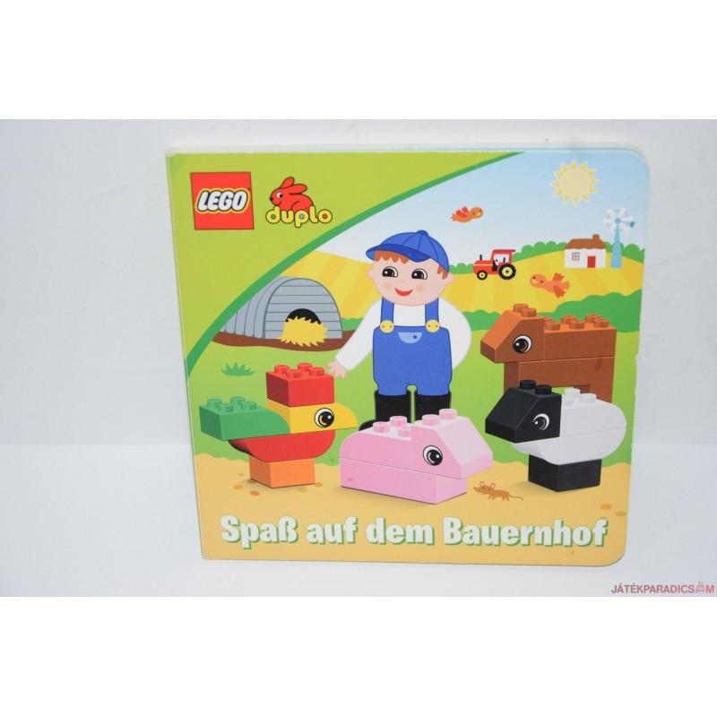 Lego Duplo vastag lapos német könyv
